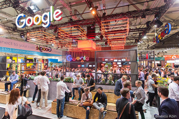 dmexco 2016 Google Messestand