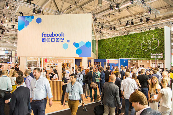 dmexco 2016 Facebook Messestand